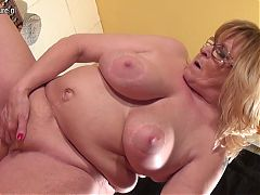 65YO Granny Still Hungry for a good fuck