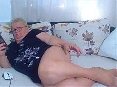 Webcam star granny
