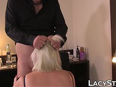 Kinky Lacey Starr fucked missionary before massive cumshot